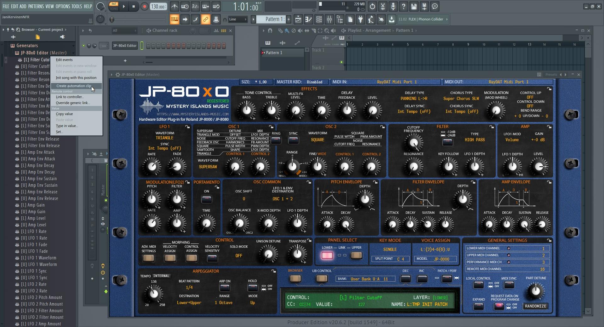 Image Line FL Studio Config 09