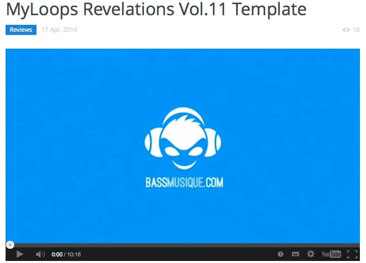 """BassMusique reviews """"Revelations Volume 11"""" by us!"""