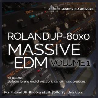 roland jp-80x0 massive edm volume 1 soundset