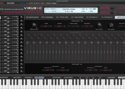 access virus editor arpeggiator ti1