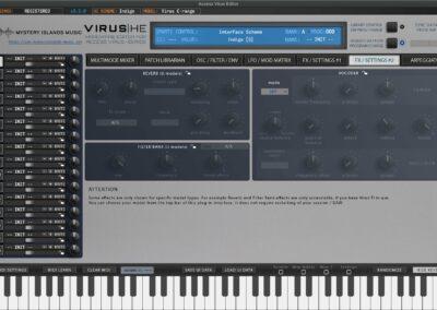 access virus editor effects 2 indigo
