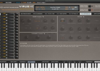 access virus editor effects 2 legacy