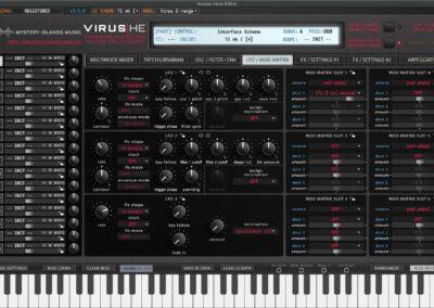 access virus editor lfo mod matrix ti1 1