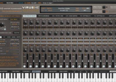 access virus editor multimode mixer legacy