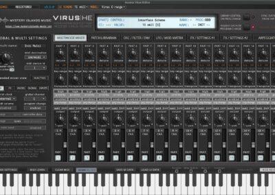 access virus editor multimode mixer ti2
