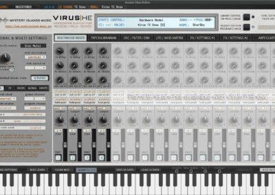 access virus editor multimode mixer tisnow