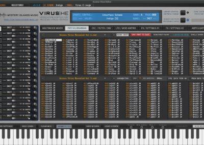 access virus editor patch librarian indigo