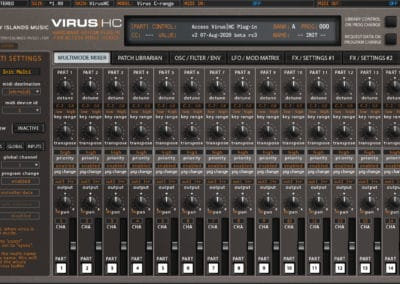 access virushc editor v2 beta c global midi vhc