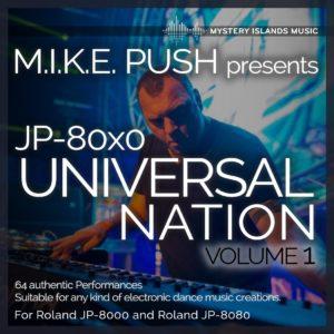 M.I.K.E. Push JP-80x0 Universal Nation Soundset vol 1