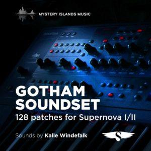 Novation Supernova Gotham Soundset