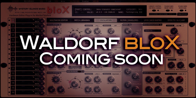 Waldorf Blofeld Editor & Librarian Coming Soon