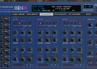 Novation SNX Oscillators (Supernova Rack)