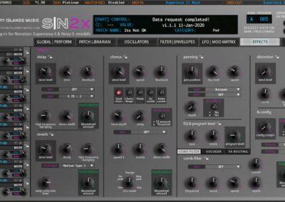 Novation SN2X Effects Platinum