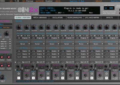 Novation SN2X Multimode Mixer Platinum