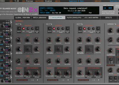 Novation SN2X Oscillators Platinum