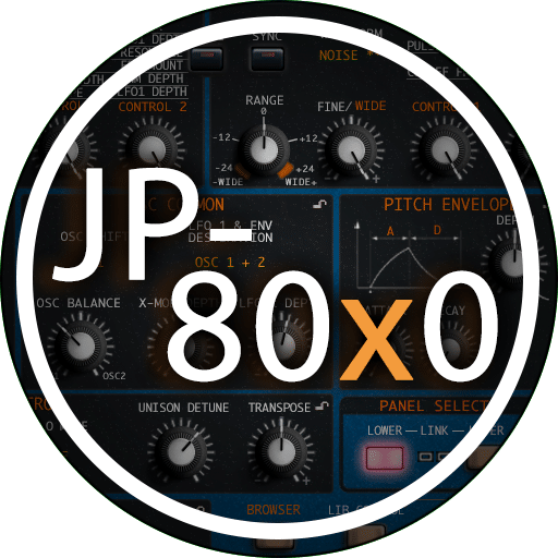 Roland JP-80x0 AudioUnit & VSTi Librarian Editor Plug-in