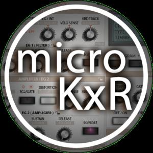 appIcon korg microkxr au vst
