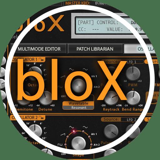 Waldorf bloX AudioUnit & VST Librarian Editor Plug-in