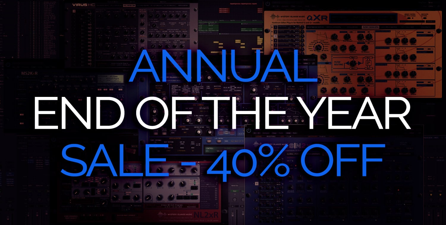 Annual End Of The Year Sale 2018