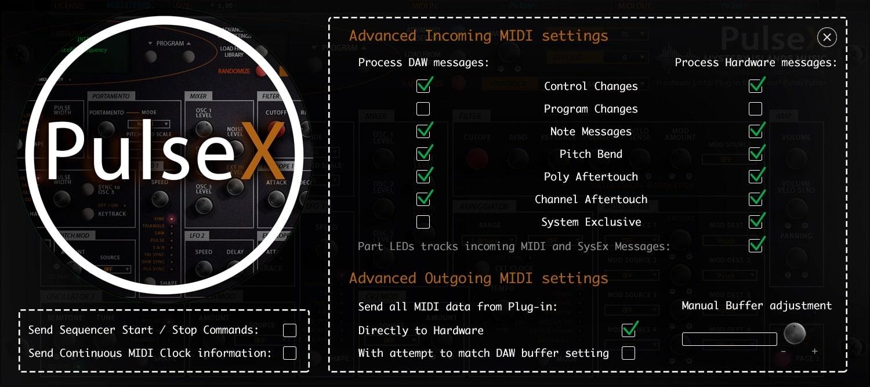 Waldorf PulseX AudioUnit & VST Librarian Editor Plug-in