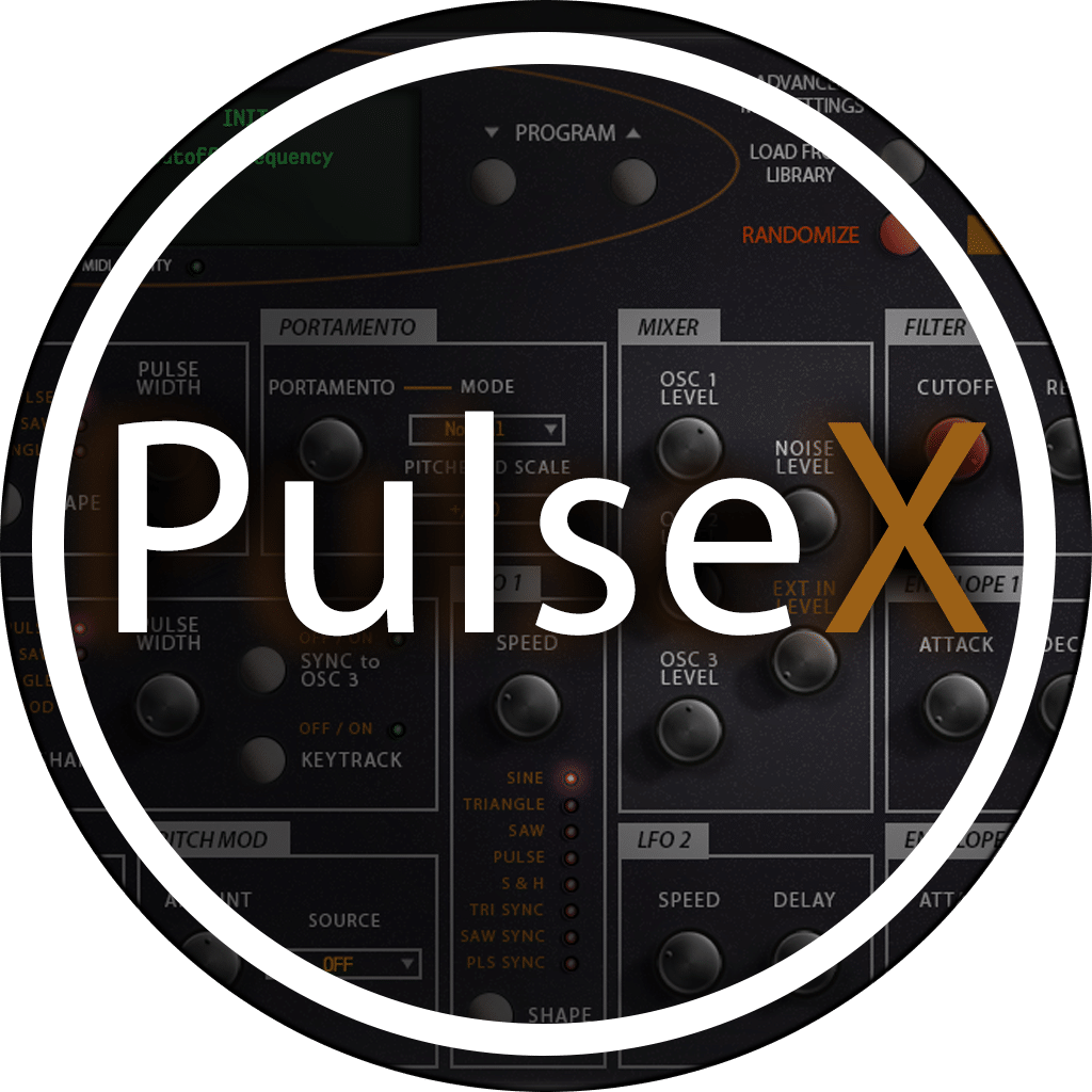 Waldorf PulseX AudioUnit & VST Librarian Editor Plug-in
