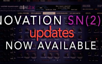 Novation SNX and Novation SN2X updates
