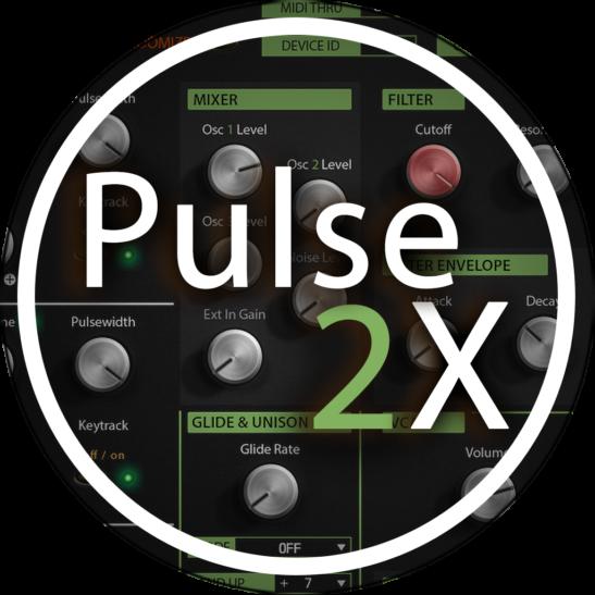 Waldorf Pulse2X Main User Interface