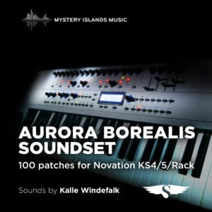 Novation KS4/5/Rack and X-Station Aurora Borealis Soundset