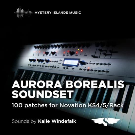 Novation KS4/5/Rack and X-Station Aurora Borealis Soundset