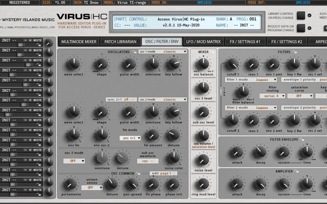 Access Virus Editor & Librarian v2 – Coming Soon!