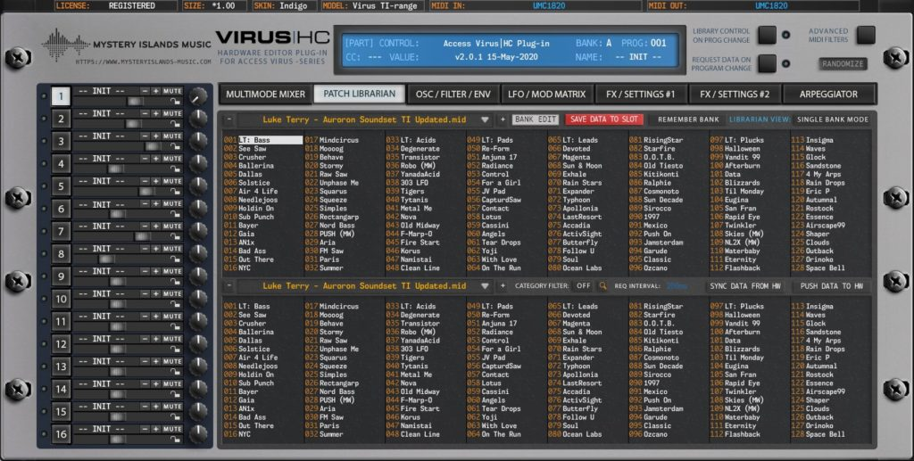 access virus editor v2 patch librarian virus indigo