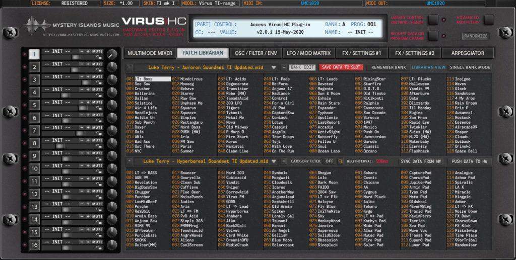 access virus editor v2 patch librarian virus ti1