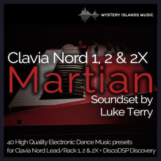 Clavia Nord Lead & Rack 1/2/2X Martian Soundset